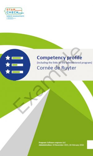 Competency profile example 20190916