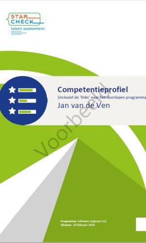 Competentie rapportage voorbeeld 2019 09 05