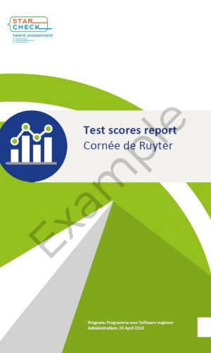 Test score report example 20190916