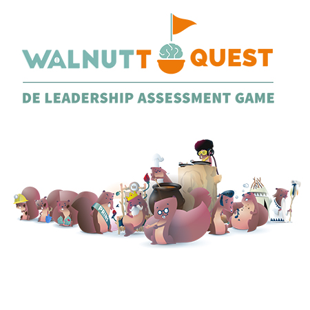 Walnutt is een game om leiderschap skills in kaart te brengen